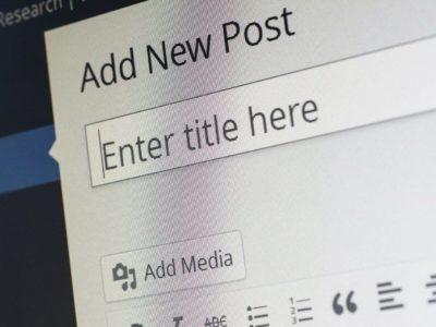 Neue Inhalte auf der Webseite einfügen