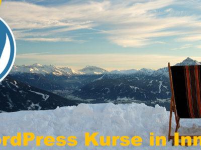 WordPress-Kurse in Innsbruck: Webseite erstellen und pflegen